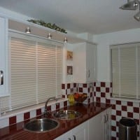 Kitchen Wooden Venetian Blinds