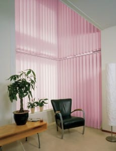 Pink Office Blinds for Offices