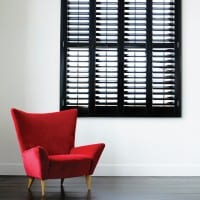 Red-Chair-Sin-Gloss Full Height Shutters